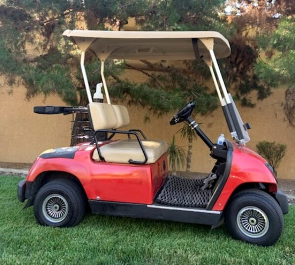 2007 Yamaha G22 Electric Golf Cart with Lights and 2019 Batteries