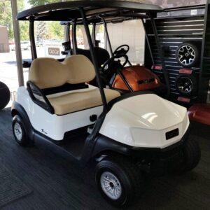 Brand New 2020 White Club Car Tempo 48V Electric