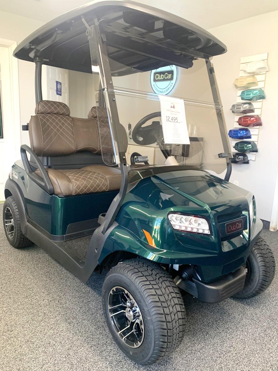 New 2020 Club Car Jade Green ONWARD w/ Lithium Batteries