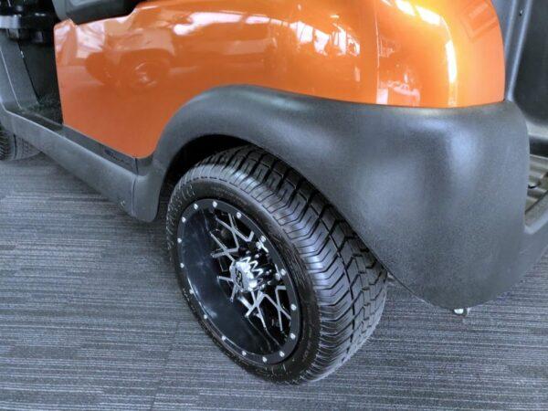 2015 custom copper-colored 48V electric Club Car Precedent