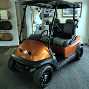 2015 custom copper-colored 48V electric Club Car Precedent