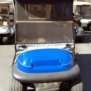 2007 Club Car Blue Precedent Electric Golf Cart w/ Enclosure