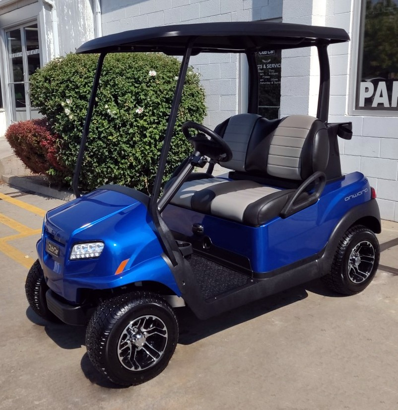 New 2020 Club Car Metallic Pearl Blue ONWARD w/ Lithium-ion Batteries