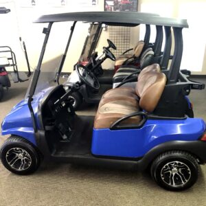 -SOLD- Club Car Custom Blue Precedent Phantom Electric -SOLD-