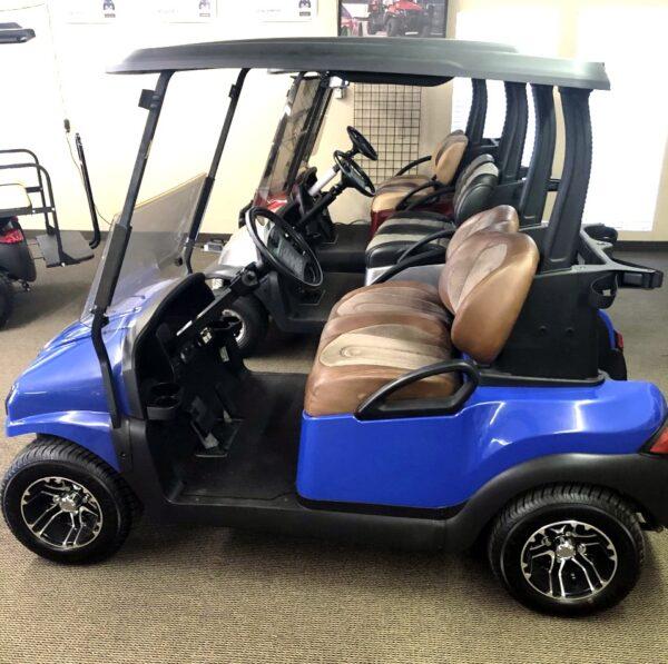 -SOLD- Club Car Custom Blue Precedent Phantom Electric -SOLD-