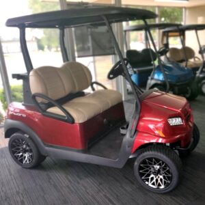 New 2021 Club Car Metallic Candy Apple Red ONWARD w/ Lithium-ion Batteries