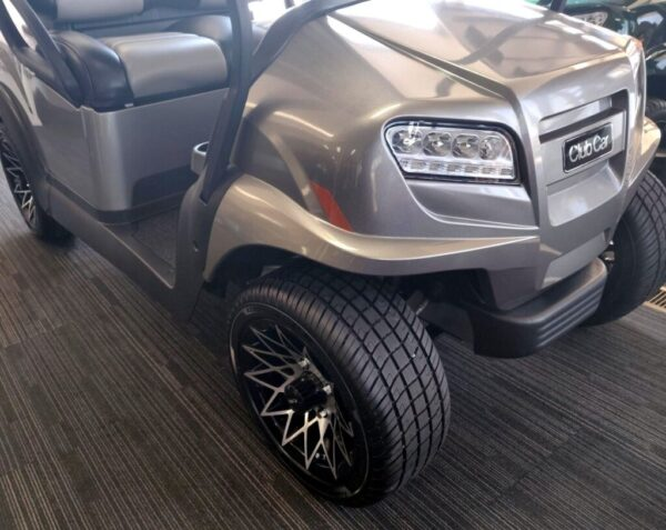 Brand New 2021 Metallic Platinum Club Car ONWARD HP 48-Volt