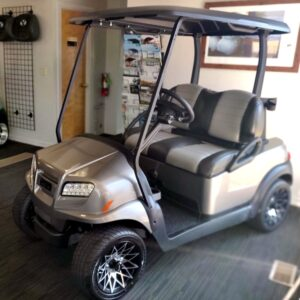 Brand New 2021 Metallic Platinum Club Car ONWARD HP 48-Volt