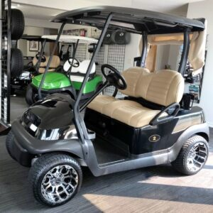 Beautiful 2017 Black Club Car Precedent Electric Golf Cart