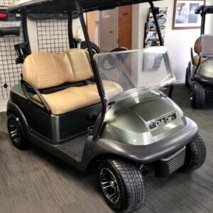 Refurbished & Customized 2016 Sage Green Club Car Precedent 48V Electric Golf Cart