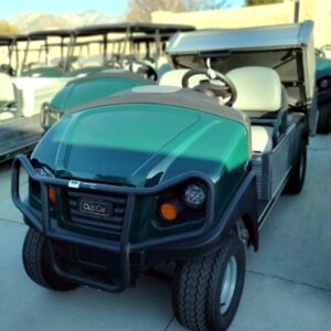 New 2020 Club Car Carryall 500 Gas EFI Utility Vehicle w/ Power Dumping Utility Bed