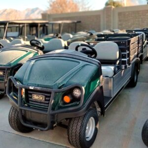New 2020 Club Car Carryall 700 Gas EFI Utility Vehicle w/ Power Dumping Utility Bed