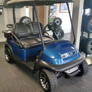 Refurbished Custom Blue 2017 Club Car Precedent 48-V Electric Golf Cart