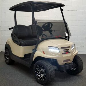 Luxurious New 2021 Club Car Beige ONWARD w/ Lithium-ion Batteries