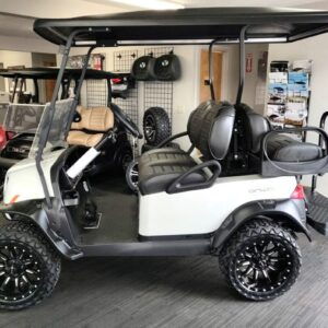 New 2021 4-Passenger Metallic Glacier White Club Car ONWARD HD Golf Cart