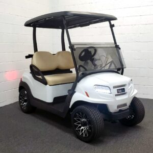 2021 Metallic Glacier White Club Car ONWARD 48-Volt Electric 2-passenger Golf Cart