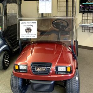 Beautifully Refurbished Custom Burgundy Electric Precedent Phantom Golf Cart