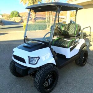 Totally Customized and Refurbished 4-passenger Precedent Electric Golf Cart w/ Alpha Body
