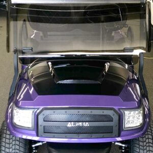 Totally Customized 2021 Special Edition Royal Purple Club Car Alpha Electric Golf Cart